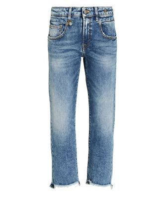 Boy Straight-Leg Crop Jeans, JASPER WITH RIPS, hi-res