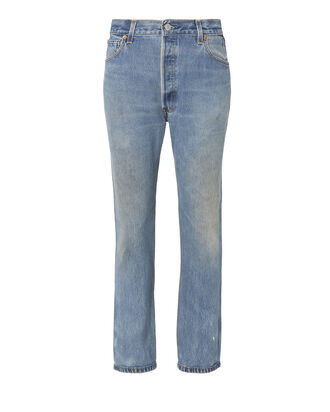 High-Rise Crop Jeans, DENIM, hi-res