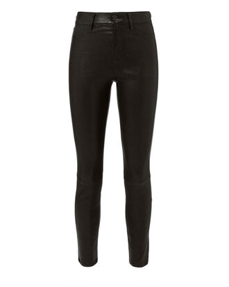 Adelaide Leather Jeans, BLACK, hi-res