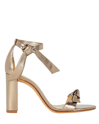 Clarita 100 Block Sandals, GOLD, hi-res