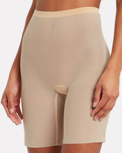 Tulle Control Shorts, BEIGE, hi-res