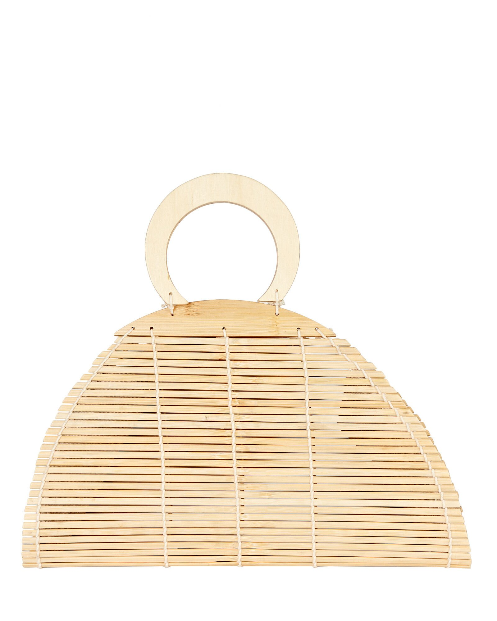Ally Bamboo Top Handle Bag, BEIGE, hi-res