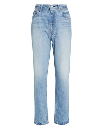 Viola Wide Straight-Leg Jeans, , hi-res