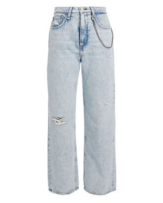 Ruth High-Rise Straight-Leg Jeans, DENIM-LT, hi-res