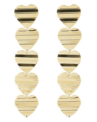 Illana Earrings, GOLD, hi-res