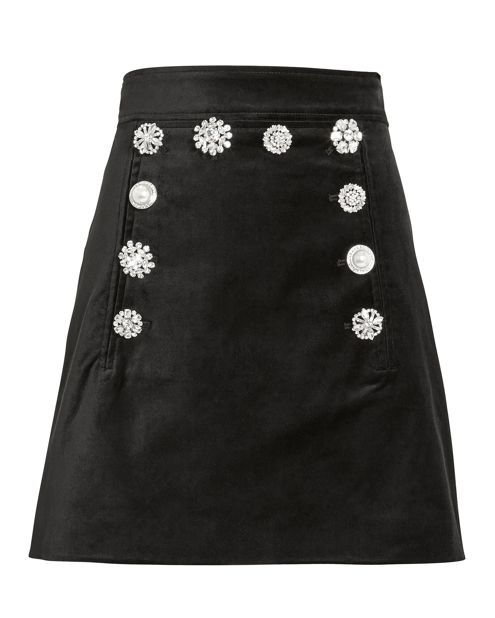 Ording Mini Skirt, BLACK, hi-res