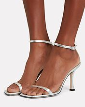 Marin 90 Leather Sandals, SILVER, hi-res