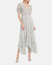 Andie Silk Midi Dress, MULTI, hi-res