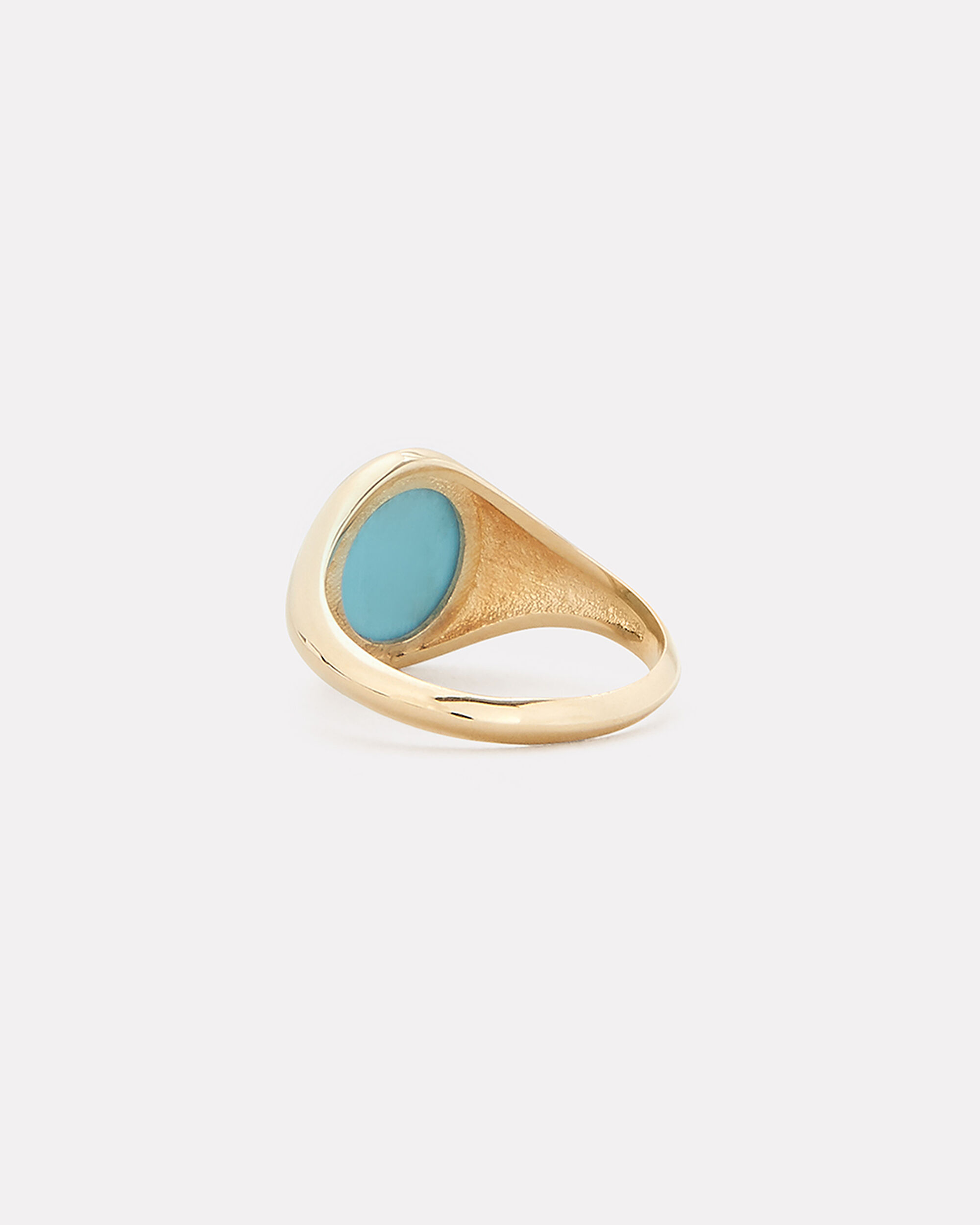 Turquoise Bezel Set Ring, GOLD, hi-res