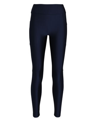 Center Stage Compression Leggings, NAVY, hi-res