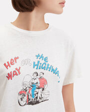 Her Way Classic T-Shirt, IVORY, hi-res