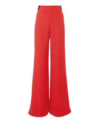 Taren Trousers, RED, hi-res