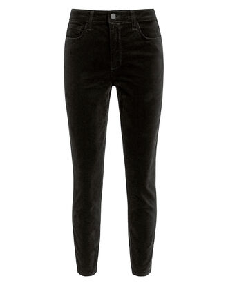 Margot Velvet Skinny Jeans, BLACK, hi-res