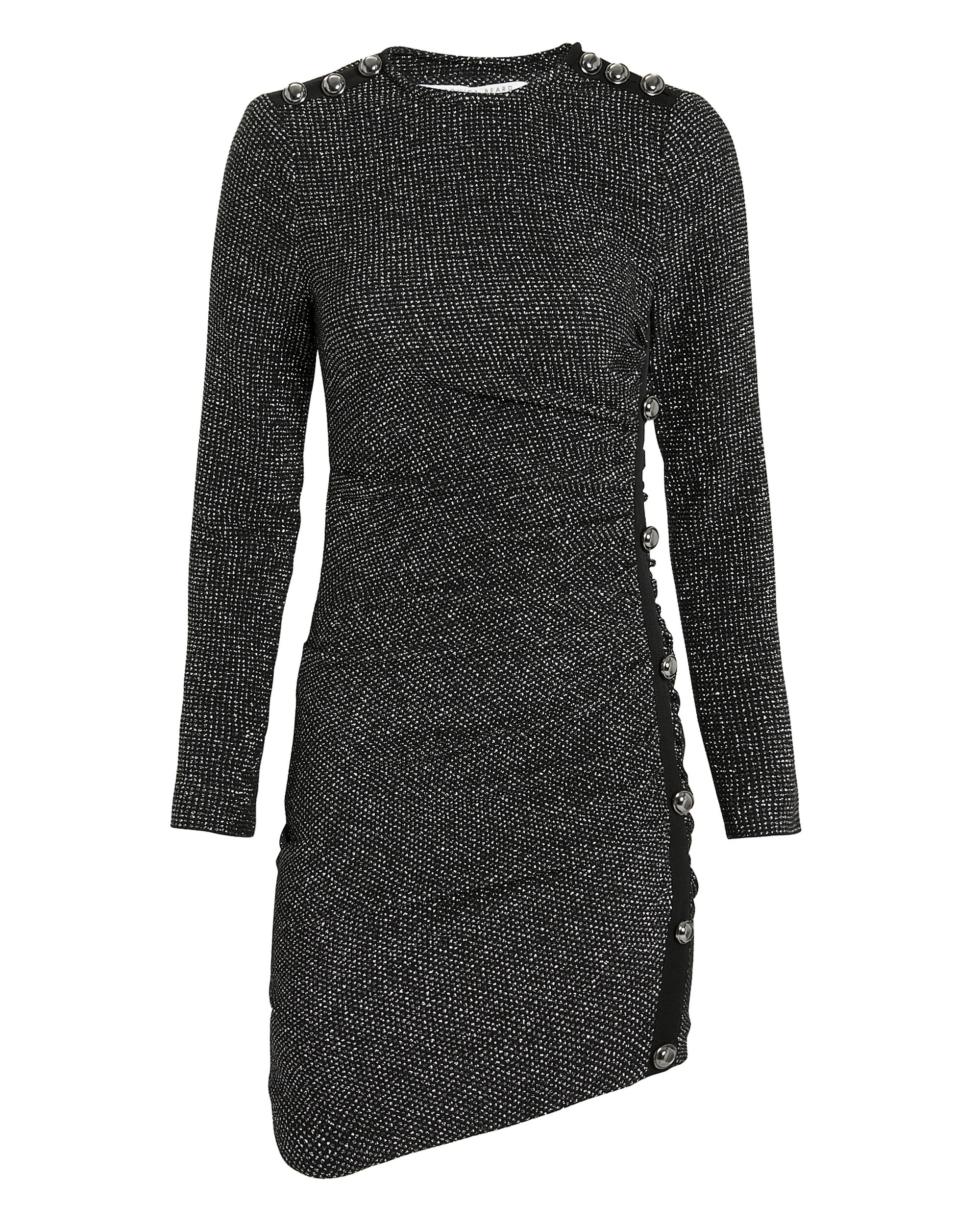 Ira Ruched Dress, SILVER, hi-res