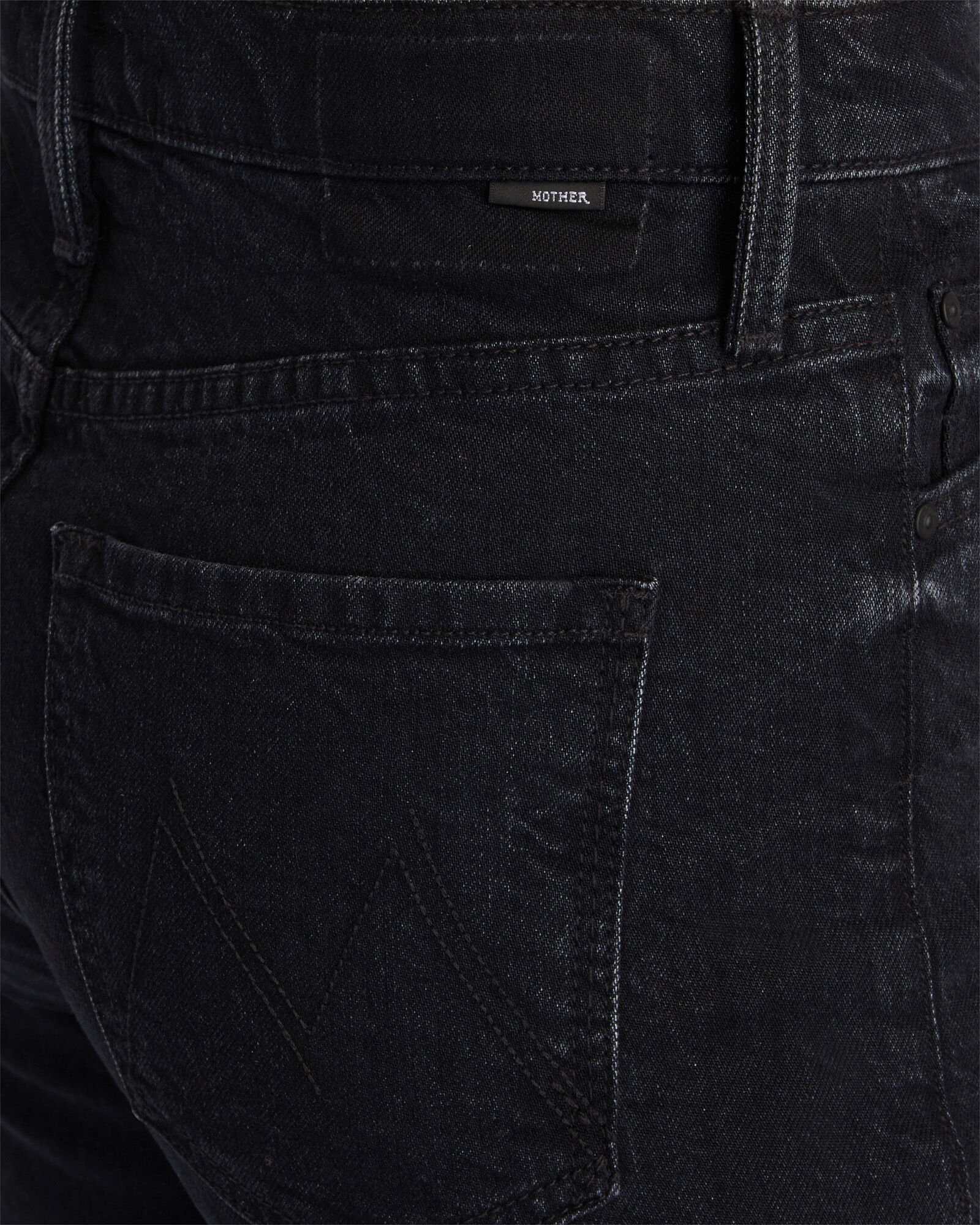 The High-Waisted Rider Skimp Jeans, BLACK, hi-res