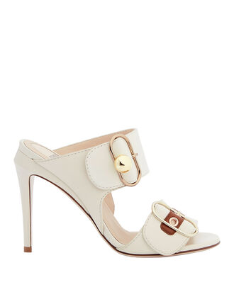 Pearland Double Strap High Sandals, WHITE, hi-res