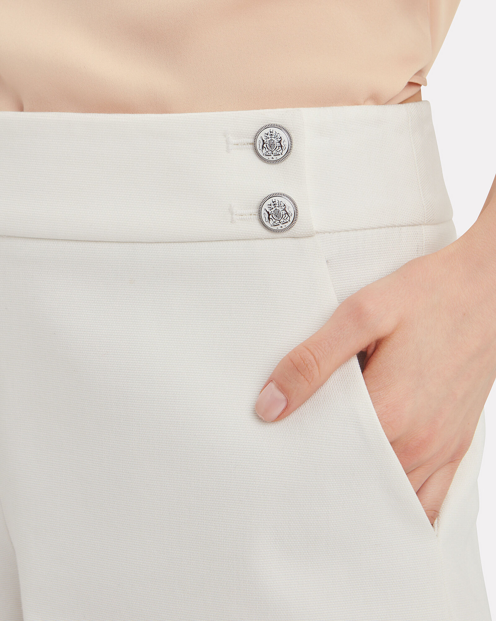 Kimm Tailored Shorts, IVORY, hi-res