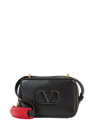 VLogo Crossbody Box Bag, BLACK, hi-res