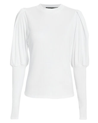 Lyon White Top, WHITE, hi-res