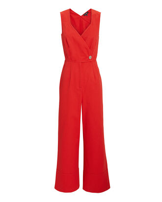 Magnola Jumpsuit, RED, hi-res