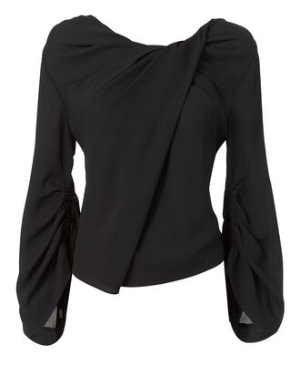 Ruched Detail Top, , hi-res