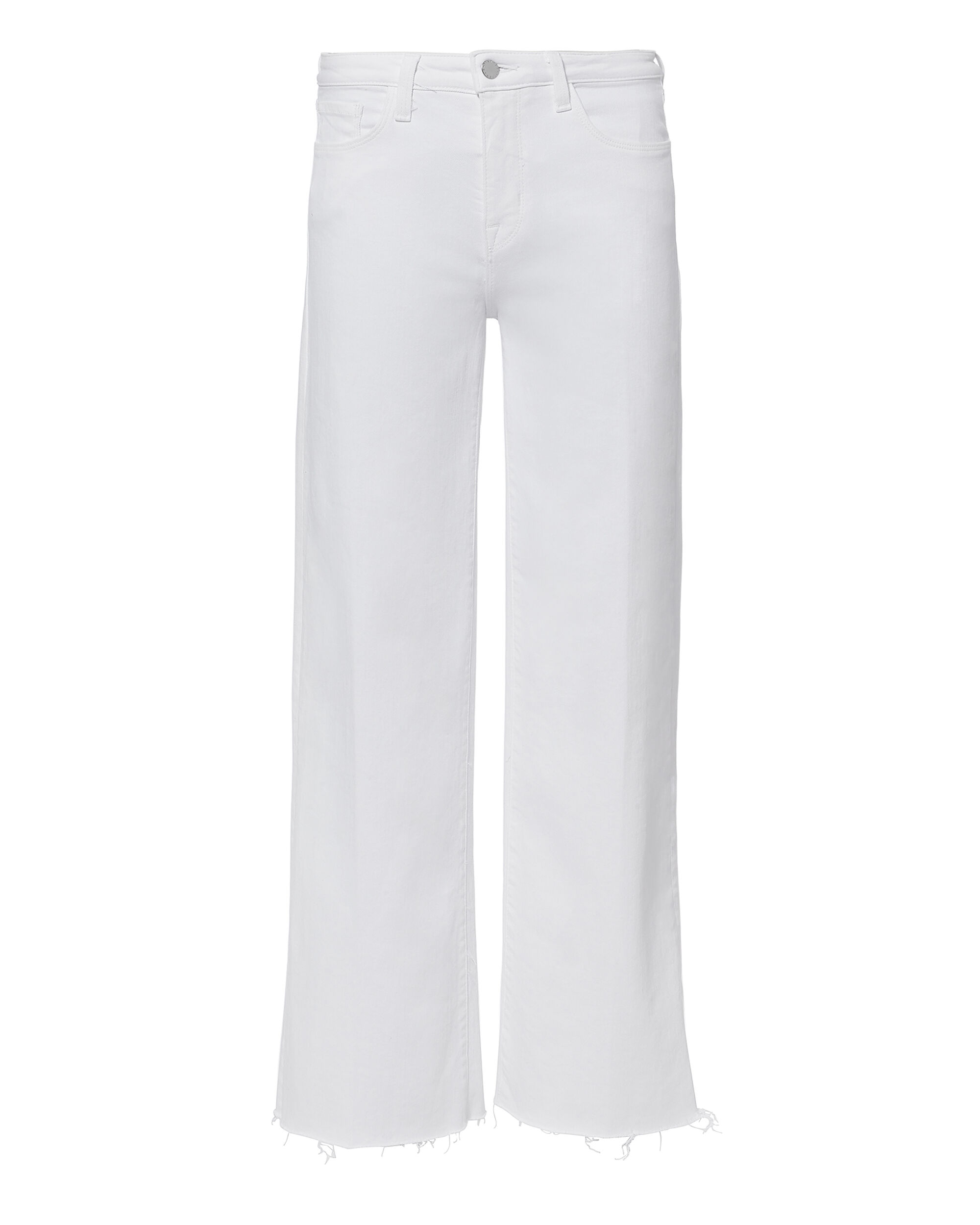 Danica Wide Leg Cropped Jeans, WHITE, hi-res
