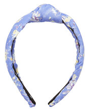 Bluejay Knotted Headband, BLUE-LT, hi-res