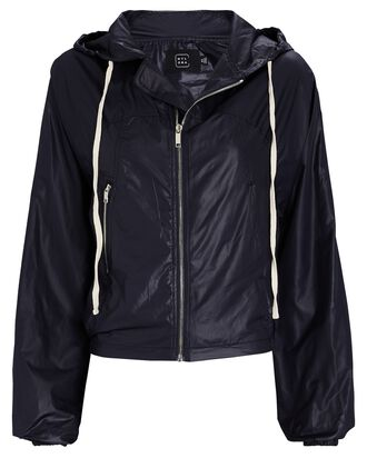Fran Hooded Zip-Up Jacket, NAVY, hi-res