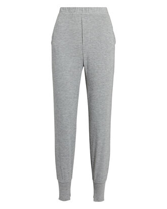 Peached Jersey Joggers, GREY, hi-res