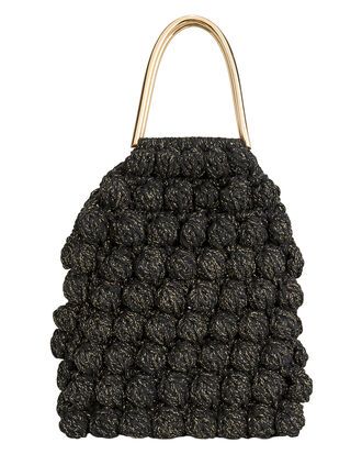 Barranco Cotton Noir Bag, BLACK, hi-res