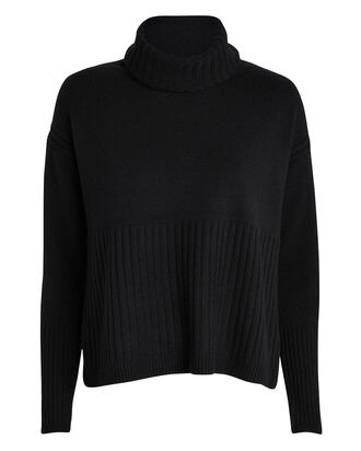 Bond Cashmere Turtleneck Sweater, BLACK, hi-res