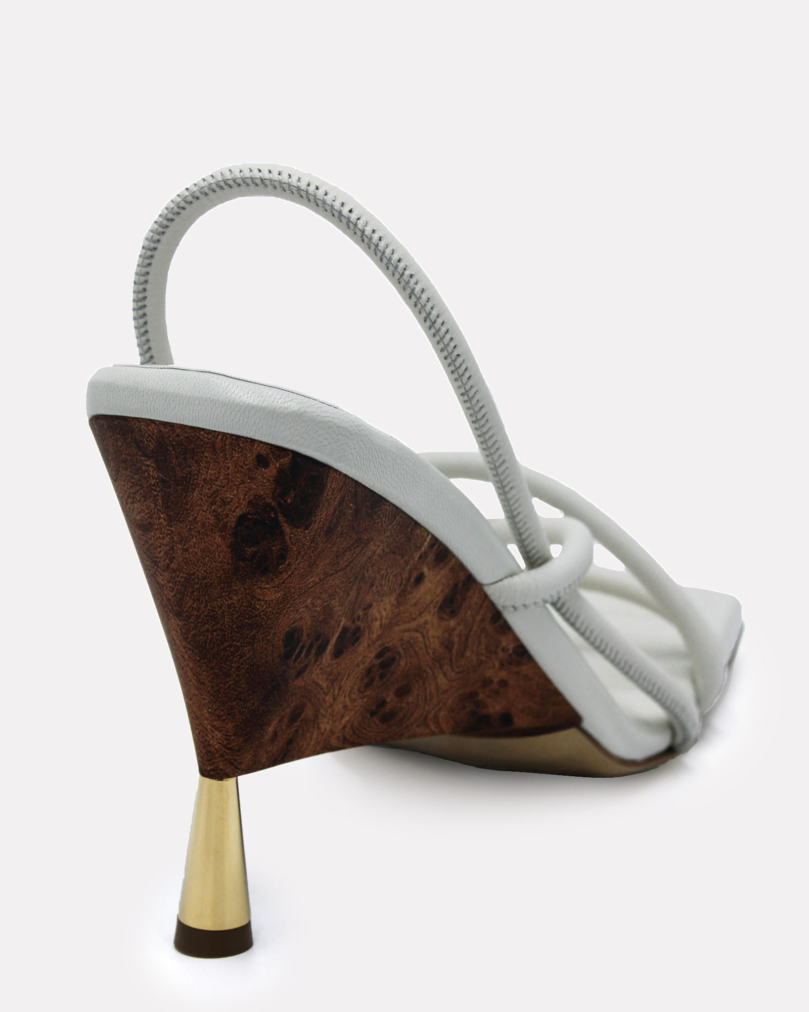 x RHW 2 Strappy Leather Sandals, WHITE, hi-res