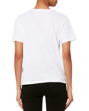 Star-Embroidered Tee, WHITE, hi-res