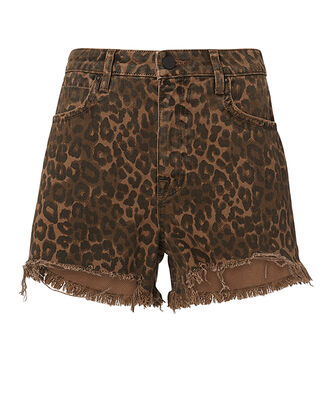Bite Leopard Shorts, MULTI, hi-res