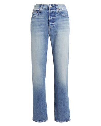 Constance Straight Leg Jeans, WHITE, hi-res