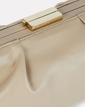Mini Florence Soft Leather Pouch, BEIGE, hi-res
