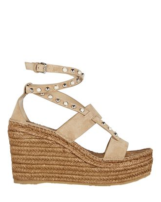 Danica 110 Espadrille Wedge Sandals, BEIGE, hi-res