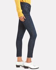 Ankle Dark Skinny Jeans, DARK DENIM, hi-res