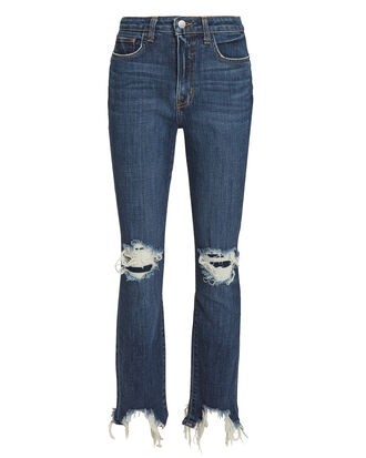 High Line Dark Jeans, DARK BLUE DENIM, hi-res