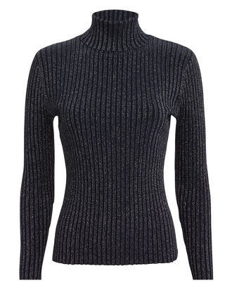 Marso Midnight Turtleneck, NAVY, hi-res