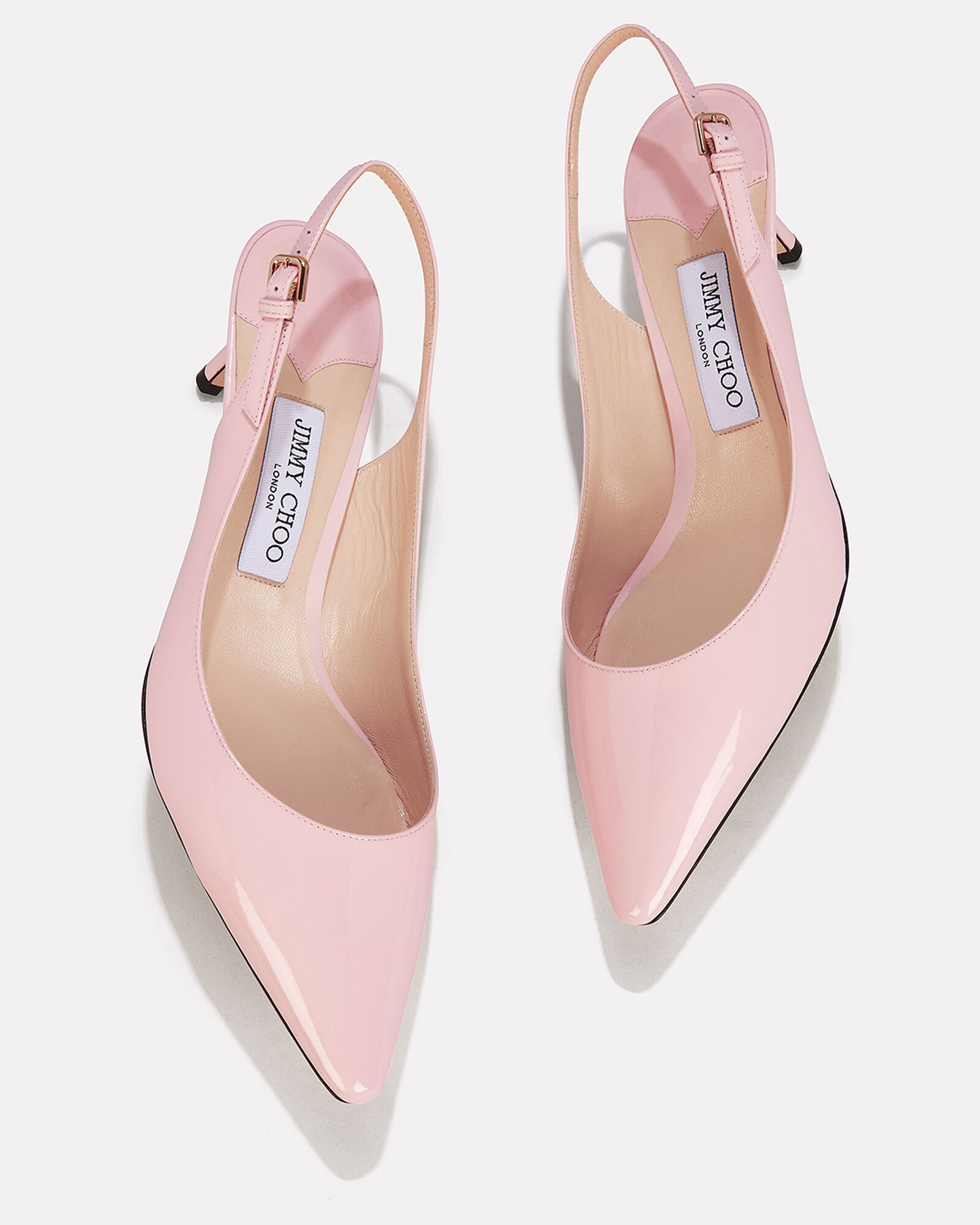 Erin Patent Leather Kitten Heels, BLUSH, hi-res