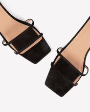 Virgo Kitten Heel Slides, BLACK, hi-res