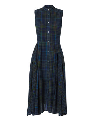 Casside Plaid Dress, PATTERN, hi-res
