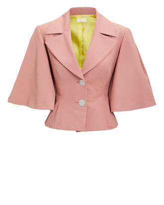 Rose Cape Blazer, ROSE, hi-res