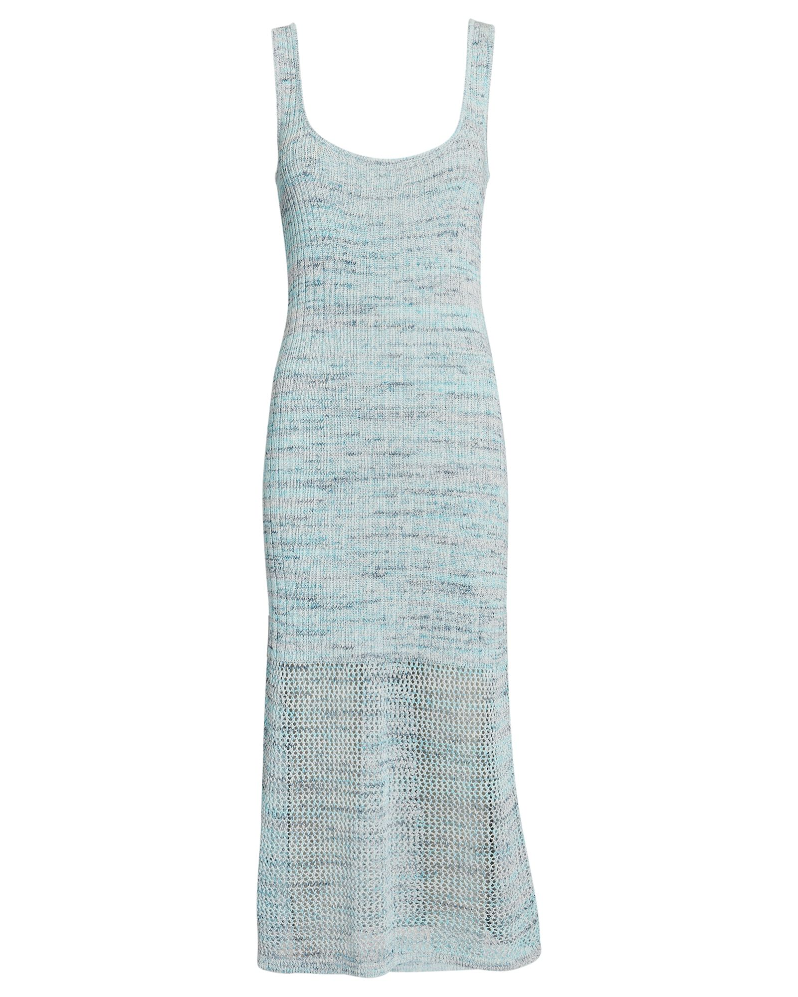 Preston Sleeveless Knit Dress, BLUE-LT, hi-res