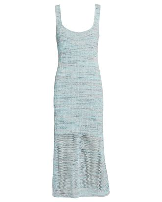 Preston Sleeveless Knit Dress, LIGHT BLUE, hi-res