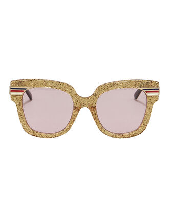 Glitter Sunglasses, GOLD, hi-res