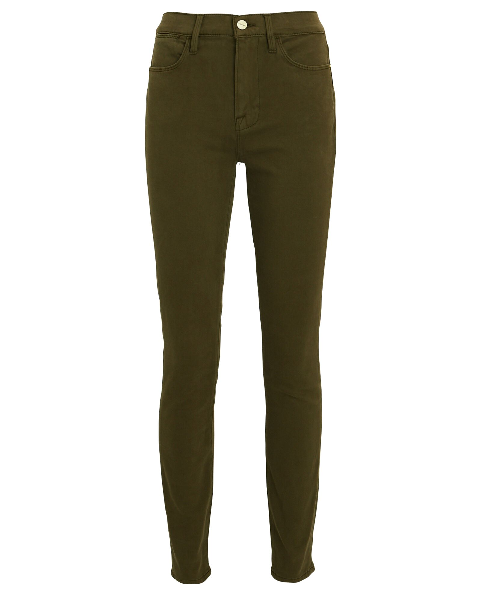 Le High Skinny Jeans, OLIVE/ARMY, hi-res