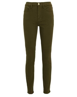 Le High Skinny Jeans, ARMY, hi-res