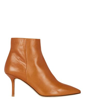 Aimee Suede Ankle Boots, BROWN, hi-res